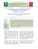 Seasonal variations in physico-chemical characteristics of Champavathi estuary, east coast of India