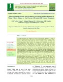 Effect of planting density and fertilizers on growth and development of tissue culture banana cv. Ney Poovan (AB) under Hill Zone of Karnataka