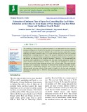 Estimation of optimum time of spray for controlling rice leaf folder infestation on boro rice in terai region of west bengal using best fitted linear and nonlinear growth model