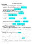 Bài tập Vật lý 12 – Chương 1: Cơ học vật rắn