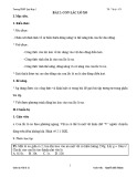 Giáo án Vật lý 12 – Bài 2: Con lắc lò xo (TrườngTHPT Quỳ Hợp 2)