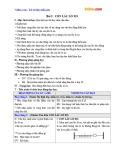 Giáo án Vật lý 12 - Bài 2: Con lắc lò xo