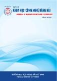 Tạp chí Khoa học công nghệ Hàng hải: Số 63-04/2020