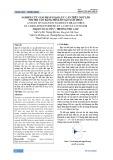 Nghiên cứu giải pháp giảm lực cản trên ngư lôi tốc độ cao bằng mũi lồi tạo xâm thực