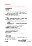 Giáo án Hóa học 12 - Bài 26: Kim loại kiềm thổ và hợp chất quan trọng của kim loại kiềm thổ