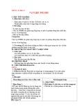 Giáo án Hóa học 12 - Bài 14: Vật liệu Polime