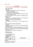 Giáo án Hóa học 12 - Bài 16: Thực hành một số tính chất của polime và vật liệu polime