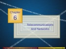 Lecture Management information systems (9/e) – Chapter 6: Telecommunications and networks