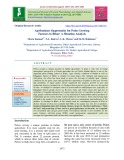 Agribusiness opportunity for pulse growing farmers in Bihar: A situation analysis