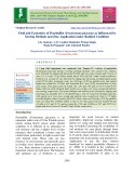 Yield and economics of Pearlmillet (Pennisetum glaucum) as influenced by sowing methods and zinc application under rainfed condition
