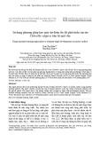 Sử dụng phương pháp học máy dự đoán tốc độ phát triển của tảo Chlorella vulgaris trên bề mặt vữa
