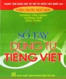 Sổ tay dùng từ tiếng Việt