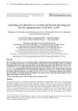 Ảnh hưởng của nhóm thế và vị trí nhóm thế lên hoạt tính chống oxy hóa của Aaptamine theo cơ chế HAT và SET