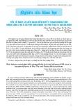 Yếu tố nguy cơ liên quan đến huyết thanh dương tính virus cúm aH5 ở cấp độ chăn nuôi tại Phú Thọ và Quảng Ninh