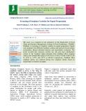Screening of sorghum varieties for Papad preparation