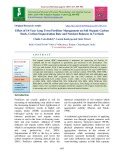 Effect of 14-year long term fertilizer management on soil organic carbon stock, carbon sequestration rate and nutrient balances in vertisols
