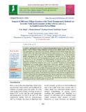 Impact of different tillage practices with weed management methods on growth, yield and economics of rice (Oryza sativa L.) in South Eastern Part of Bihar