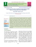 Optimization of extrusion variables for the development of RTE snacks by incorporation of pearl millet starch