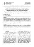 Bảo tồn các giá trị di sản văn hóa tinh thần tại các xã nông thôn mới thành phố Hồ Chí Minh (Thông qua khảo sát ý kiến đánh giá của người nông dân)