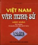 Lược khảo văn minh Việt Nam: Phần 1