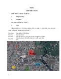 Thuyết minh dự án Khu dân cư Quận 12