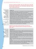 Đánh giá kết quả điều trị gãy liên mẫu chuyển xương đùi ở người cao tuổi bằng phương pháp thay chỏm Bipolar