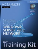 Microsoft Windows server 2003 network and administering security