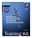 Microsoft Windows server 2003, planning and maintaining