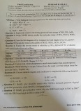 Đề thi cuối kỳ II môn Hóa vô cơ (Đề số 1) - ĐH Khoa học Tự nhiên