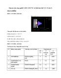 Đáp án đề thi học kỳ I năm học 2015-2016 môn Công nghệ CAD/CAM-CNC cơ bản (Đợt 2) - ĐH Sư phạm Kỹ thuật