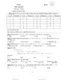 Đề thi môn Ngôn ngữ lập trình