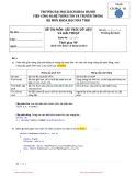 Đề thi học kỳ năm 2011 môn Cấu trúc dữ liệu và giải thuật (Mã đề 01) - Đại học Bách khoa Hà Nội