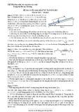 Đề thi tuyển sinh hệ kỹ sư tài năng 2013 môn Vật lý - ĐH Bách khoa Hà Nội