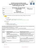 Đề thi học kỳ năm 2011 môn Cấu trúc dữ liệu và giải thuật (Mã đề 02) - Đại học Bách khoa Hà Nội
