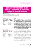 Từ công bằng thủ tục đến công bằng nội dung: Thành tựu và thách thức của chế định kiểm soát điều khoản mẫu trong pháp luật Việt Nam