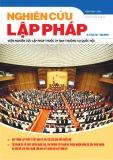 Tạp chí Nghiên cứu Lập pháp: Số 10/2017