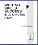 20 minutes a day with writing skills success