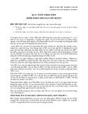 Bài giảng Dược lý học - Bài 15: Thuốc kháng Virus (Nhóm kháng virus sao chép ngược)