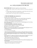 Bài giảng Dược lý học - Bài 12: Thuốc an thần kinh và thuốc bình thần