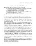 Bài giảng Dược lý học - Bài 17: Thuốc chống lao, thuốc điều trị phong