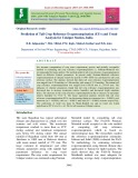 Prediction of tall crop reference evapotranspiration (ETr) and trend analysis for Udaipur Station, India