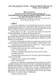 Thể lệ tham dự Liên hoan cán bộ thư viện tuyên truyền giới thiệu sách chào mừng kỷ niệm 130 năm ngày sinh Chủ tịch Hồ Chí Minh(19/5/1890 - 19/5/2020) và các ngày Lễ lớn năm 2020 của đất nước
