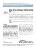 Một vài vấn đề về dạy tiếng Việt cho người nước ngoài bằng phương pháp giao tiếp tại trường Đại học Sư phạm - Đại học Đà Nẵng