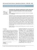 Hiện trạng chất lượng môi trường nước và mối tương quan với cấu trúc quần xã trùng bánh xe ở hồ Phú Ninh, tỉnh Quảng Nam
