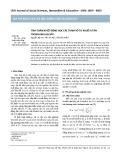 Tính toán nhiệt động học các tham số tự khuếch tán trong kim loại sắt