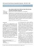 Ảnh hưởng của một số yếu tố đến quá trình tổng hợp nano bạc bằng trichoderma asperellum