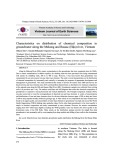 Characteristics on distribution of chemical composition in groundwater along the Mekong and Bassac (Hậu) river, Vietnam