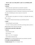 Giáo án Địa lí 12 - Bài 21: Quy luật địa đới và quy luật phi địa đới