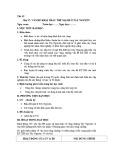 Giáo án Địa lí 12 - Bài 37: Vấn đề khai thác thế mạnh ở tây nguyên