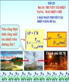 Bài giảng Vật lí 12 - Bài 16: Truyền tải điện năng, máy biến thế
